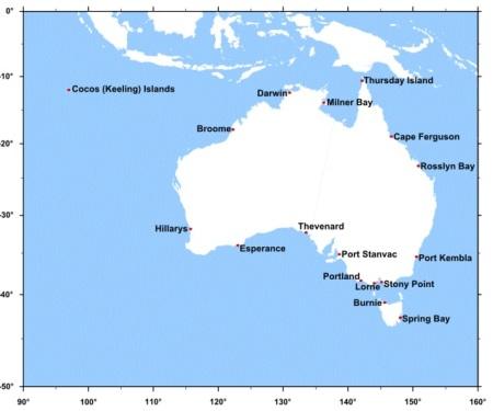MSL map