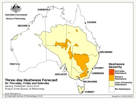 heatwave forecast