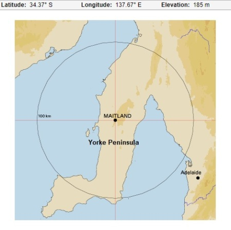 Maitland map