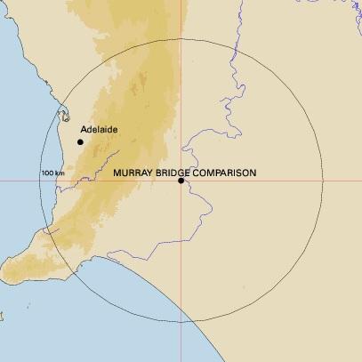 Murray Bridge map