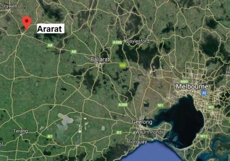 Ararat map