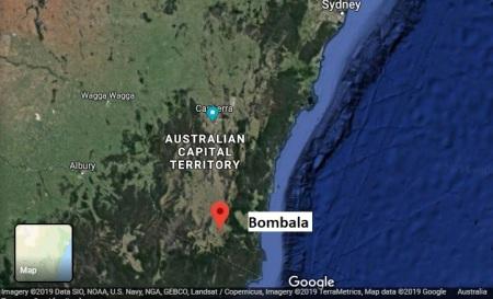 Bombala map