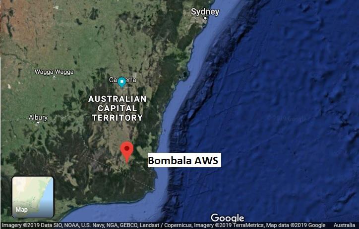 BombalaAWS map