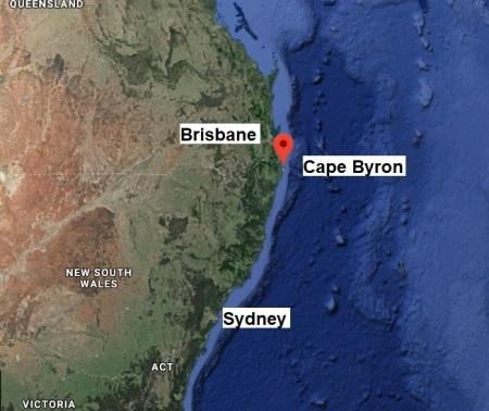CapeByron map