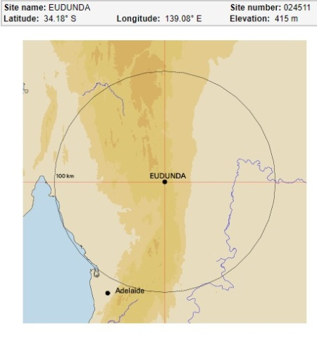 Eudunda 24511 map