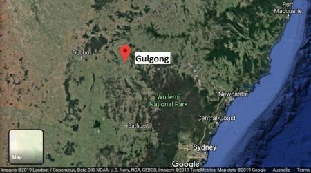 Gulgong map