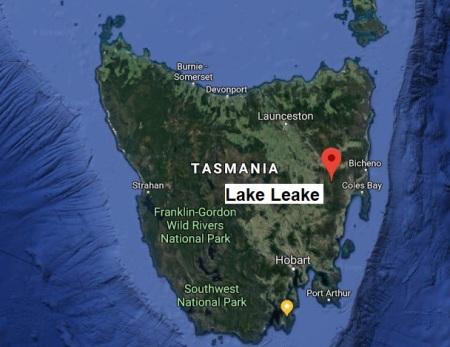LakeLeake map