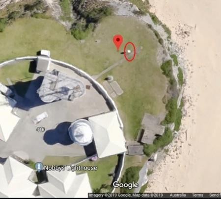 Newcastle Nobbys aerial