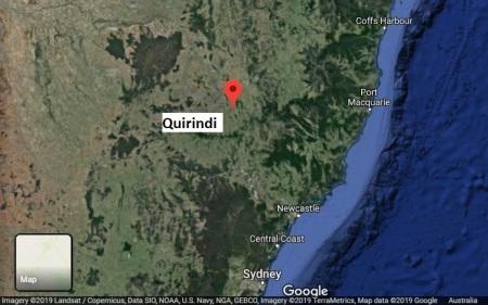 Quirindi map