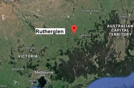 Rutherglen map