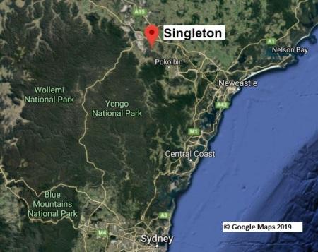 Singleton map