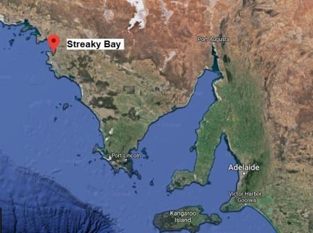 Streaky Bay 18079 map