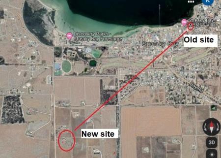 Streaky Bay 18079 move location