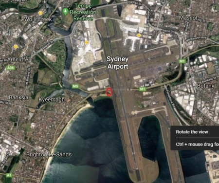 Sydney airport wider still