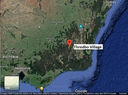 Thredbo map