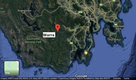 Warra map