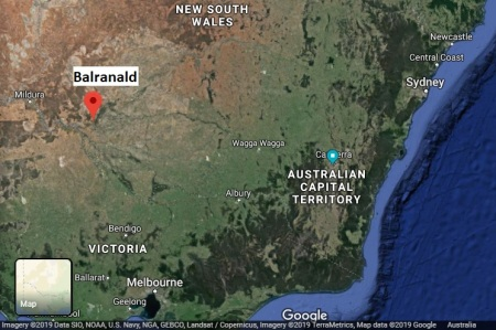 Balranald map