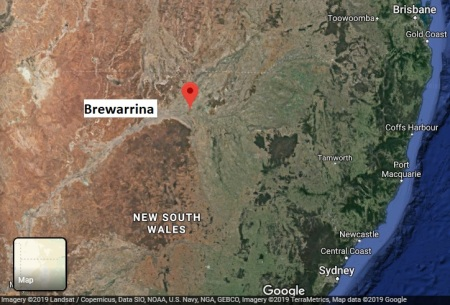 Brewarrina map