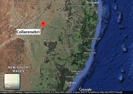 Collarenbri map
