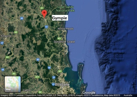 Gympie map