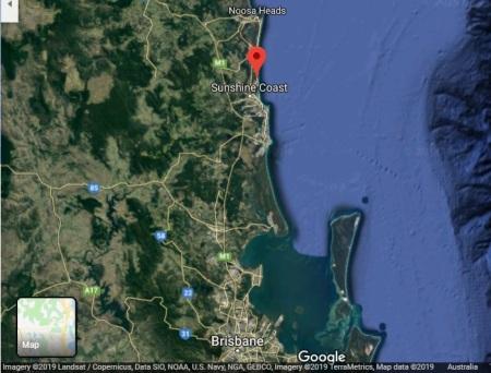 SunshineCoast map