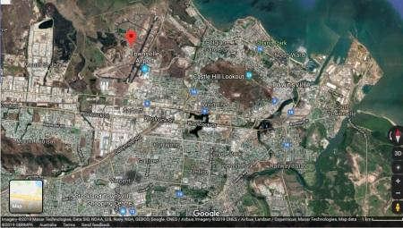 Townsville map