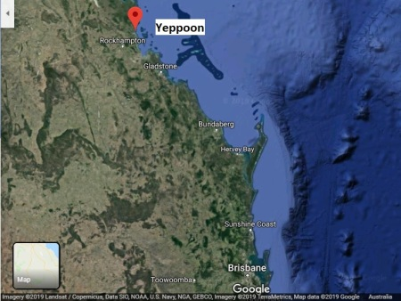 Yeppoon map