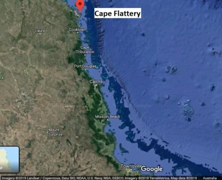CapeFlattery map