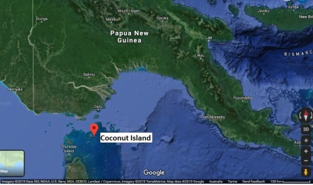 CoconutIs map