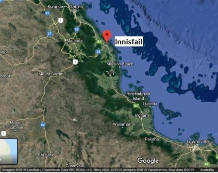innisfail map