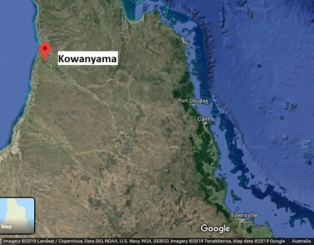 Kowanyama map