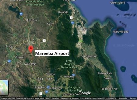 Mareeba map