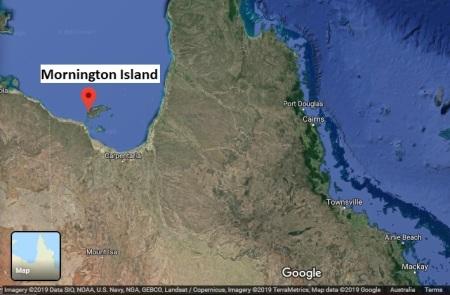 MorningtonIs map