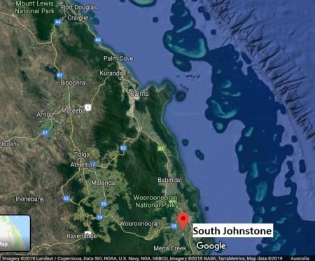 SouthJohnstone map